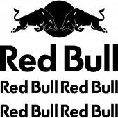 Komplet  naklejek - Red Bull