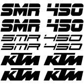 Ktm 450 SMR Aufkleber-Set