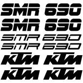 Ktm 690 SMC Aufkleber-Set