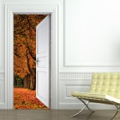 Landscape Door Stickers