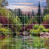 Landscape - Tiles Wall Stickers