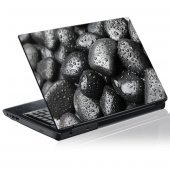 Laptop-Aufkleber Kieselsteine