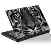Laptop-Aufkleber Tiger