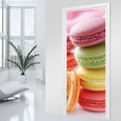 Macaroons Door Stickers