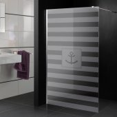 Marine - shower frosted sticker