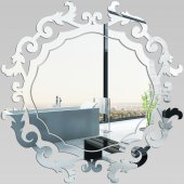 Miroir Acrylique Plexiglass Baroque