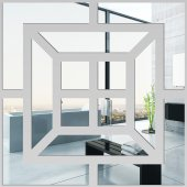 Miroir Acrylique Plexiglass Carré 2