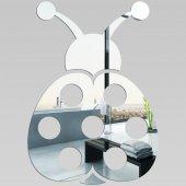 Miroir Acrylique Plexiglass Coccinelle