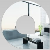 Miroir Acrylique Plexiglass Spirales Design 6