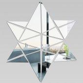 Miroir Acrylique Plexiglass Etoile Mosaïque