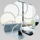Miroir Acrylique Plexiglass Fleur 5