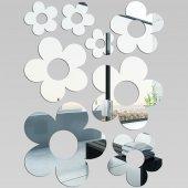 Miroir Acrylique Plexiglass Fleurs MiniMaxi