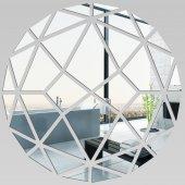 Miroir Acrylique Plexiglass Rond Mosaïque 1