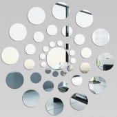 Miroir Acrylique Plexiglass Ronde des points