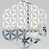 Miroir Acrylique Plexiglass Rose des sables
