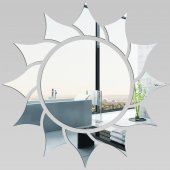 Miroir Acrylique Plexiglass Soleil 2