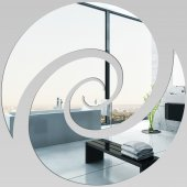 Miroir Acrylique Plexiglass Spirale 7