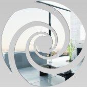 Miroir Acrylique Plexiglass Spirale 8
