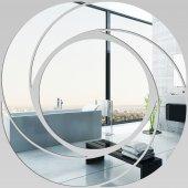 Miroir Acrylique Plexiglass Spirales Design 1