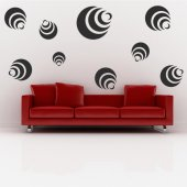 Moon Set Wall Stickers