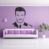 Naklejka ścienna - David Beckham