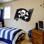 Naklejka ścienna Dla Dzieci - Żagiel Piratów