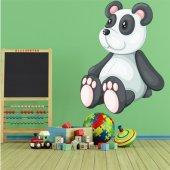 Naklejka ścienna Dla Dzieci - Niedźwiadek Panda