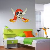 Naklejka ścienna Dla Dzieci - Pirat