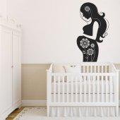 Naklejka ścienna - Kobieta w ciąży