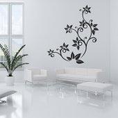 Naklejka ścienna - Kwiat ornament