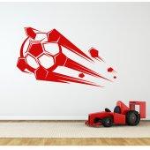 Naklejka ścienna - Piłka nożna