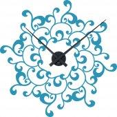 Naklejka ścienna Zegar - Ornament