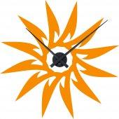 Naklejka ścienna Zegar - Słońce
