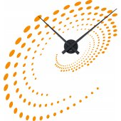 Naklejka ścienna Zegar - Spirale