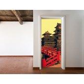Naklejka na Drzwi - Azja
