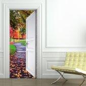 Naklejka na Drzwi - Dróżka