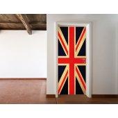 Naklejka na Drzwi - Flaga UK