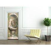 Naklejka na Drzwi - Fontanna