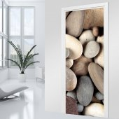 Naklejka na Drzwi - Kamyki