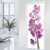 Naklejka na Drzwi - Kwiaty