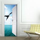Naklejka na Drzwi - Mewa