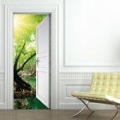 Naklejka na Drzwi - Natura