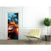 Naklejka na Drzwi - Samochód