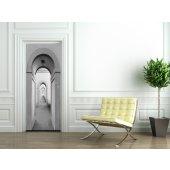 Naklejka na Drzwi - Sklepienie