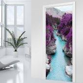 Naklejka na Drzwi - Strumyk
