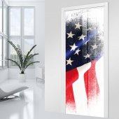 Naklejka na Drzwi - USA
