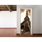 Naklejka na Drzwi - Wieża Eiffla