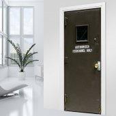 Naklejka na Drzwi - Wzmocnione Drzwi