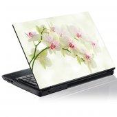 Naklejka na PC - Białe Orchidee