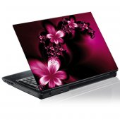 Naklejka na PC - Grafika Kwiaty